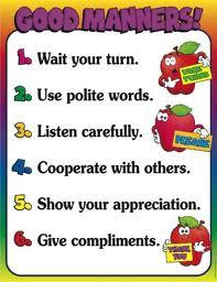 steps of good manners