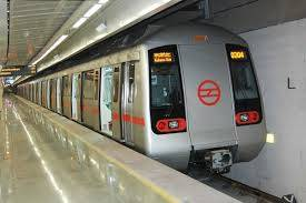 delhi metro line underground