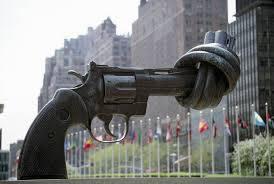 non violence statue