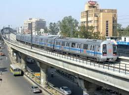 delhi metro line overground